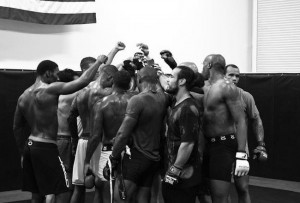 MMA training is about teamwork and fun...