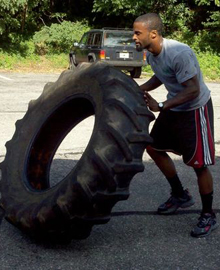 Flipping a tyre has long been considered an important Boxing and MMA conditioning exercise...