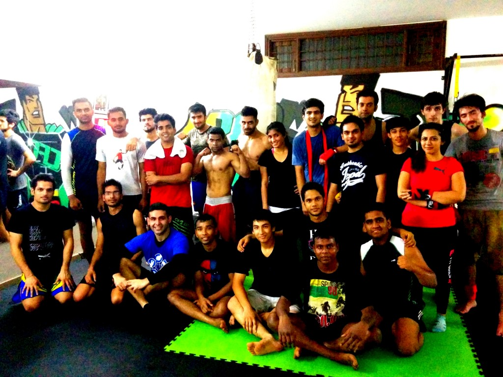 Members training at Crosstrain Fight Club