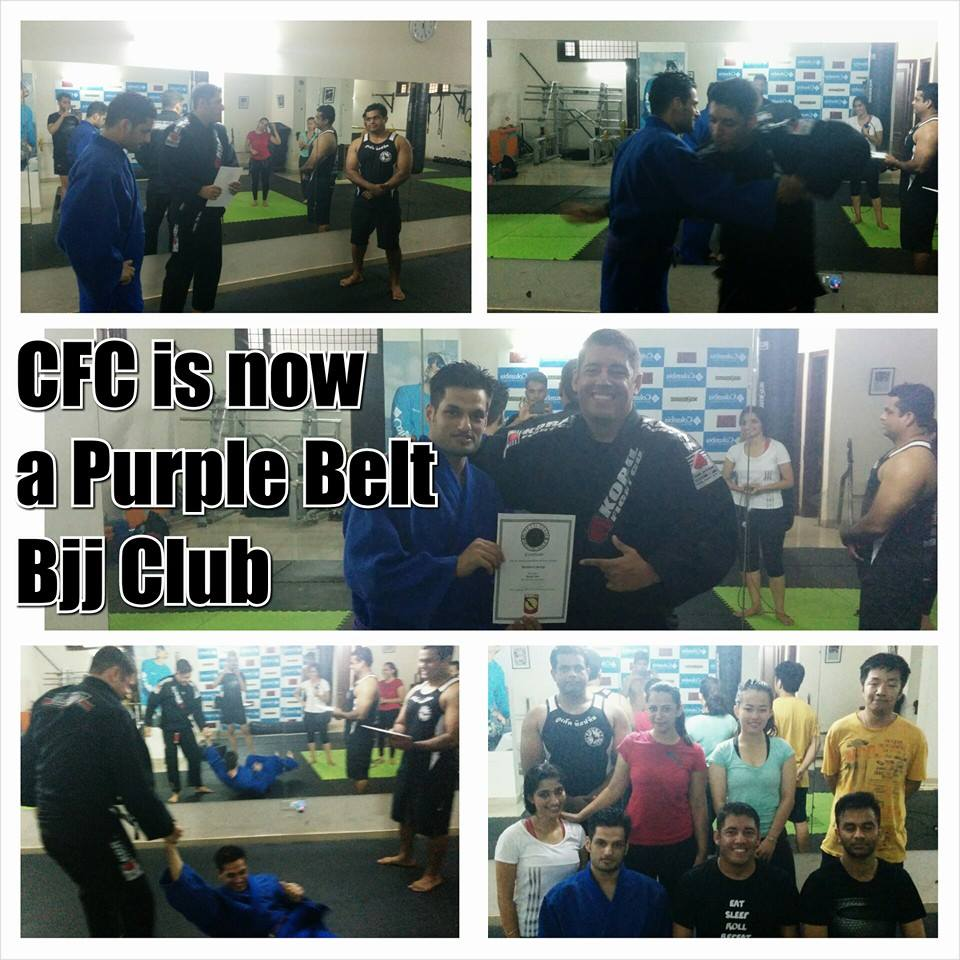 BJJ Purple Belt in Delhi, India