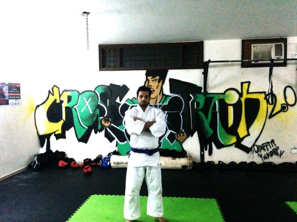 Siddharth Singh- Purple Belt Jiu Jitsu