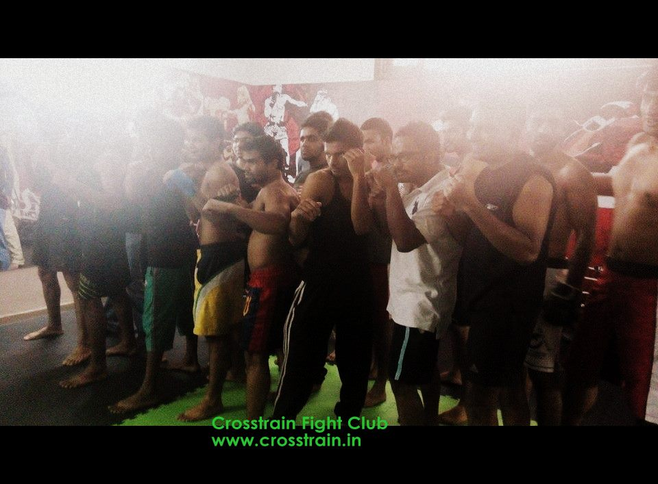 Muay Thai Fighters at Crosstrain Fight Night 4