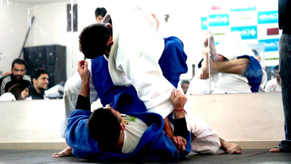 Brazilian Jiu Jitsu at Crosstrain Fight Club Delhi